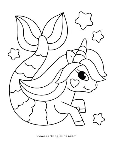 coloring pages : Cute Animals To Color Best Of Chibi Mermaid ... | 480x380