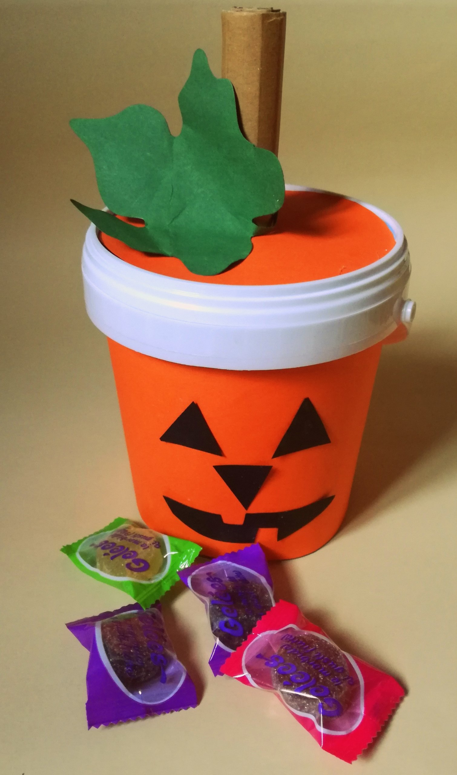 trick or treat bag craft for kids
